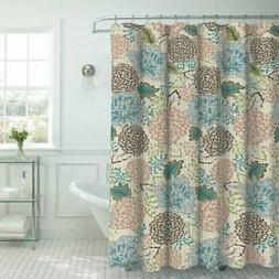 Creative Home Ideas Sonrie Faux Textured Shower Curtain