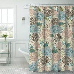 Creative Home Ideas Sonrie Faux Textured Shower Curtain