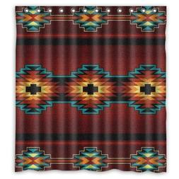 Southwest Native American Polyester Bathroom Comfortable For