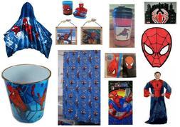 Spiderman Bathroom Accessories Shower Curtain Towels Hoodie