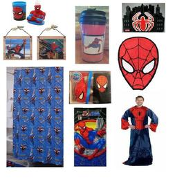 Spiderman Bathroom Accessories Shower Curtain Towels Hoodie