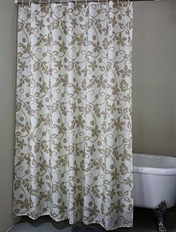 Welwo Stall Shower Curtain Liner  with Hooks Set for Shower