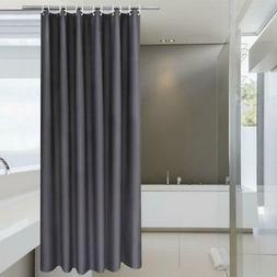 NEW Stall Shower Curtain 36 x 72 Inch Solid Fabric Bathroom