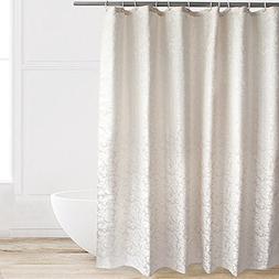 Eforcurtain Elegant Hotel Stylish Microfiber Shower Curtain