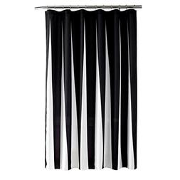 Striped Black And White Water-Repellent Mildew Resistant Fab