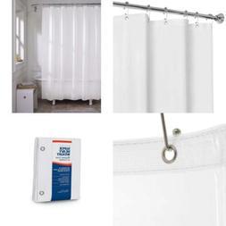 MAYTEX Super Heavyweight Premium 10 Gauge Shower Curtain Lin
