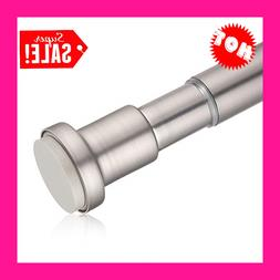 Tension Curtain Rod 43-73 Inches, Rust-Resistance Shower Cur