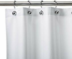 CSI Bathware Textured Vinyl Single Shower Curtain