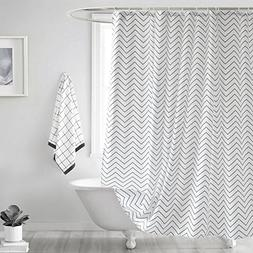 Ufelicity Classic Shower Curtain Polyester Mildew Resistant,