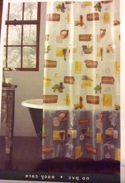 Tranquil Relax Art Of Wellness Vinyl Shower Curtain Excell O