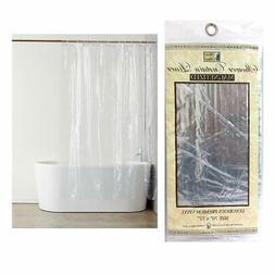 Transparent Shower Curtain Liner 100% Vinyl 70x72 Magnetic M