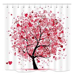 tree of life shower curtain for bathroom