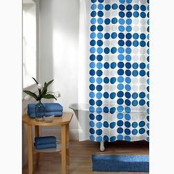 Maytex Trina Dot 13-Piece PEVA Shower Curtain Set