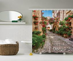 Ambesonne Tuscan Decor Collection, Historical Mediterranean