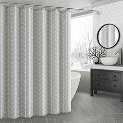 Ufaitheart 54 by 72-Inch Geometric Shower Curtain Stall Size