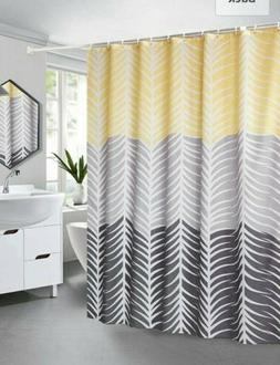 "Ufaitheart 54"" x 72"" Waterproof Shower Curtains Polyester Fa"