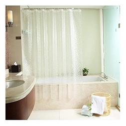 Uforme 48 Inch By 72 Inch Shower Curtain Liner PVC-free Envi