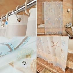 Ufatansy Uforme Sea Star Theme Pattern Shower Curtain Liner