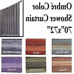 Unique Multi-Color Ombre SHOWER Curtain