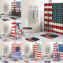 usa patriot shower curtain fourth of july