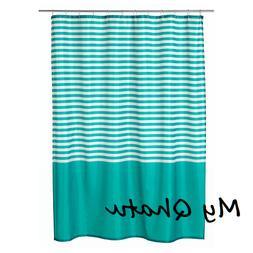 "Ikea VADSJON Shower Curtain Turquoise Bath Bathroom 71x71"" N"