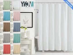 VCNY Peva Plastic Shower Curtain Liners With Magnets - Assor