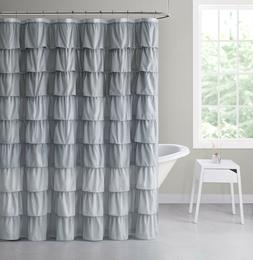 VCNY Home Sally Gypsy Ombre Ruffled Fabric Shower Curtains -