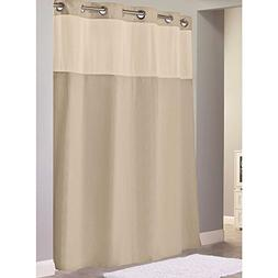 "Hookless Waffle Fabric Shower Curtain - Size : 71"" X 86"" - C"
