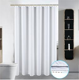 "S·Lattye 40"" x 72"" Washable Fabric Shower Curtain Liner  Ba"