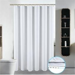 S·Lattye 72 x 78 Washable Shower Curtain Liner Bathroom Wat