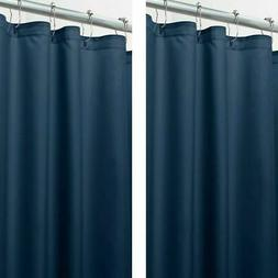 """mDesign Water Repellent Fabric Shower Curtain/Liner, 96"""" Lon"""