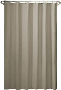 """MAYTEX Water Repellent Fabric Shower Curtain or Liner, 70"""" x"""