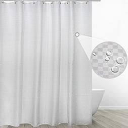 Eforgift Water Resistant Fabric Curtain for Bathroom Antibac