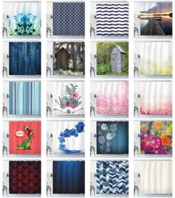 Ambesonne Water Resistant Shower Curtain Cloth Printed Fabri
