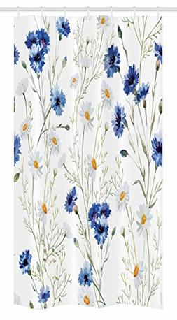 Ambesonne Watercolor Flower Stall Shower Curtain by, Wildflo