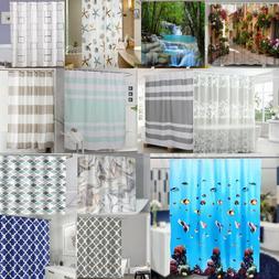 Waterproof 3D Printed Polyester Bathroom Bath Shower Curtain