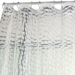 Waterproof Bathroom Shower Curtain Liner Clear 15 Gauge Heav