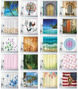 Ambesonne Waterproof Cloth Shower Curtain Batroom Decor & Ho