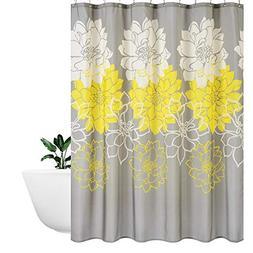 Waterproof Polyester fabric Shower Curtain Bathroom Bath Dec