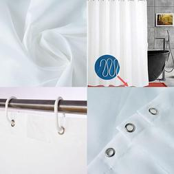 Yoloplus Weighted Hem Shower Curtain Liner 72X78 Inch Extra