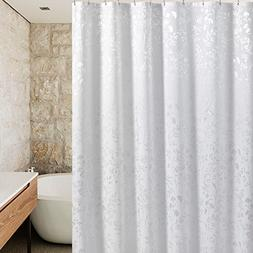 UFRIDAY Fabric Shower Curtain Extra Long, Mildew Resistant a