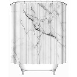 Uphome Wild Symbol Marble Pattern Bathroom Shower Curtain -