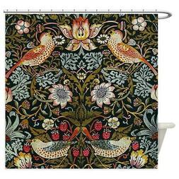 CafePress William Morris Strawberry Thief Shower Curtain