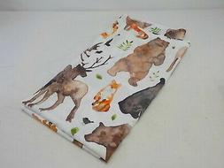 Americanflat Woodland Animals Shower Curtain by Elena Oneill